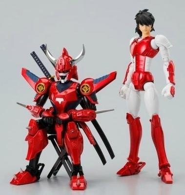 HITOY model Ronin Warriors Samurai Troopers Seiji Date Ryo Sanada Shin Mouri Touma Hashiba Metal Cloth Armor Action Figure Toy(China)