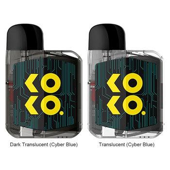Uwell – Cigarette électronique Caliburn KOKO Prime Vision, Kit Original, batterie 690mAh, vaporisateur adapté à la cartouche Caliburn G, bobine