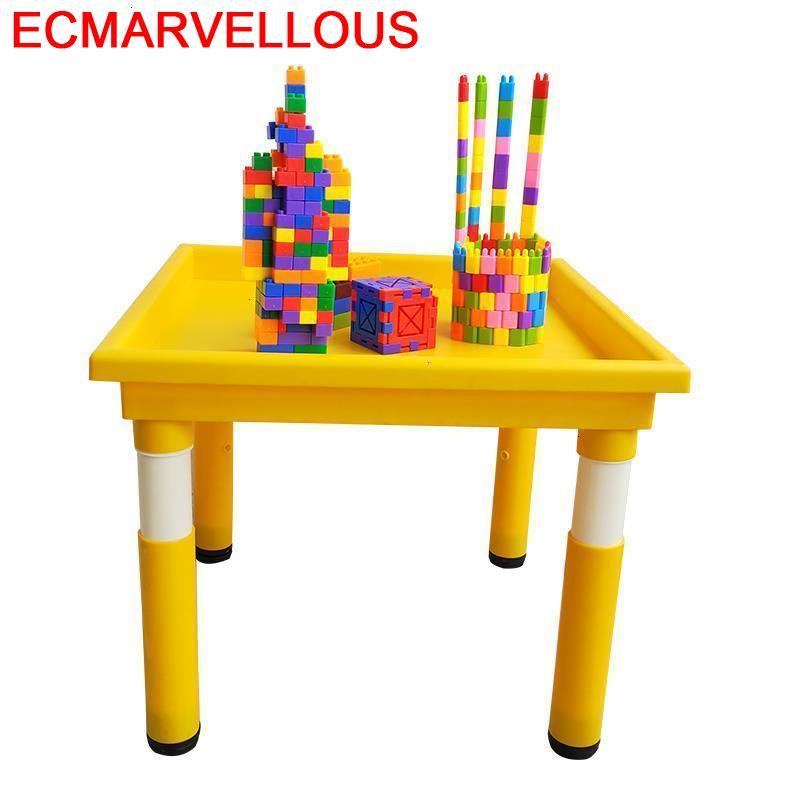 Tavolo Per Bambini Silla Y Infantiles De Plastico Game Kindergarten Mesa Infantil Enfant Study For Kids Children Table