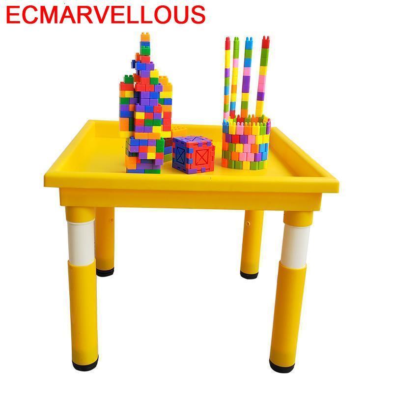 Tavolo Per Bambini Silla Y Infantiles De Plastico Game Kindergarten Mesa Infantil Enfant Study For Kids Children Table