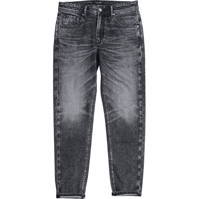 SIMWOOD 2020 New Jeans Men Classical Jean High Quality Straight Leg Male Casual Pants Plus Size Cotton Denim Trousers  180348 3
