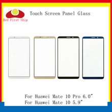 10Pcs/lot Touch Screen For Huawei Mate 10 Touch Panel Front Outer Glass Lens Touchscreen Mate 10 Pro LCD Glass Replacement front outer glass lens touch panel cover replacement for huawei p30 pro p20 lite mate 20 pro mate 10 mate 30 front screen lens