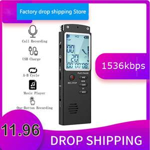 Dictaphone Mp3-Player Voice-Recorder Audio Professional Digital T60 WAV with 1536 USB