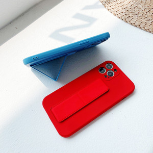 Image 3 - Coque de téléphone en Silicone liquide avec dragées, couleur bonbon, pour iPhone 12 Pro Mini 11 Pro Max X XR XS Max 7 8 Plus SE 2020