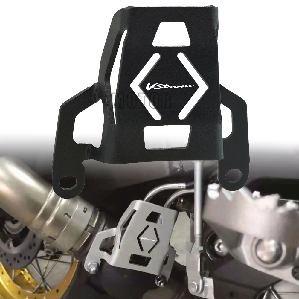 <font><b>V</b></font>-<font><b>Strom</b></font> LOGO Motorcycle Exhaust valve guard protection FOR Suzuki <font><b>V</b></font>-StromDL1000 <font><b>V</b></font> <font><b>STROM</b></font> <font><b>DL</b></font> <font><b>1000</b></font> 2015 2015 2016 2017 2018 2019 image