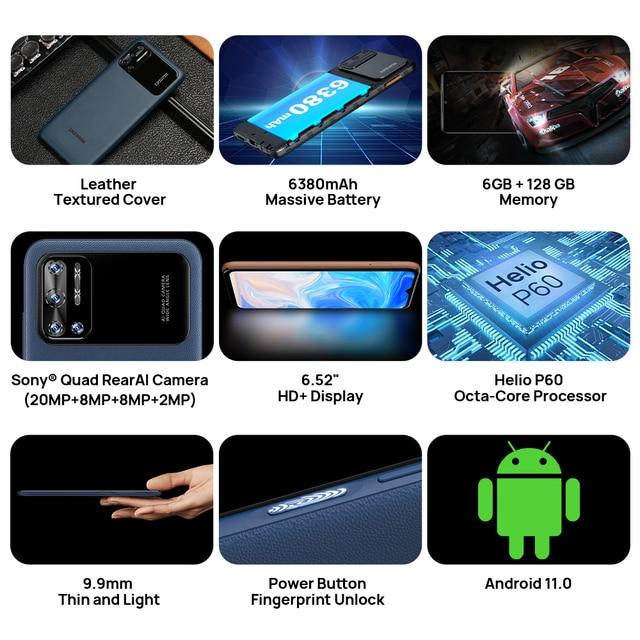 Смартфон DOOGEE N40 Pro, 6 + 128 ГБ