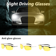Night Vision Driving Glasses UV Protection Polarized Yellow Lens Eyewear Sunglasses Accessories Cycling Glasses