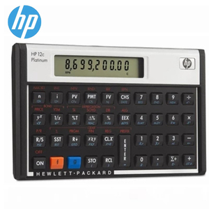 Hot Sale HP 12C Platinum AFP CFP CMA FRM/CFA Exam Computer Financial Planner Financial Planning Calculator