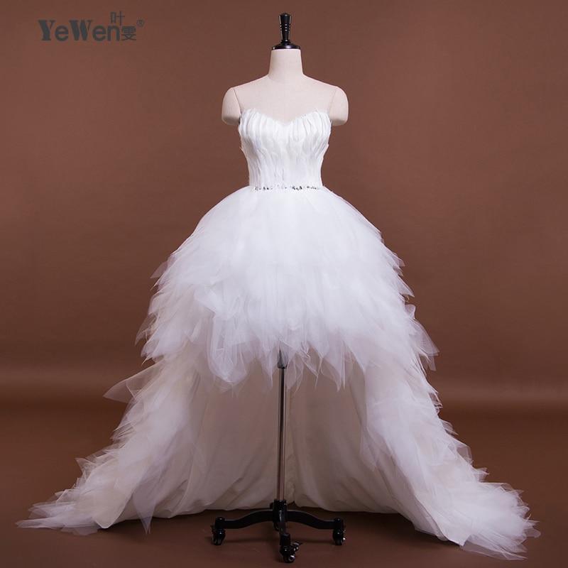 Бальные платья коктельные платья 2017 Пышные формальные пром платья с открытой спиной cердце образный воротник c пером на заказ размер и цвет