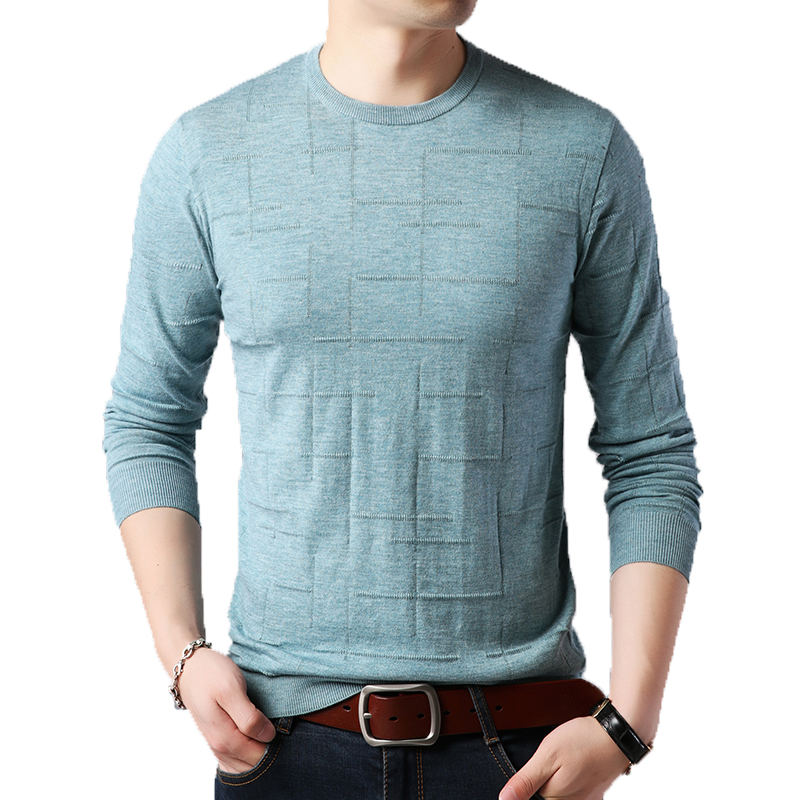 Mens Sweaters Jumper Male Pullover Long-Sleeve Winter Fashion Casual M-3XL Smart