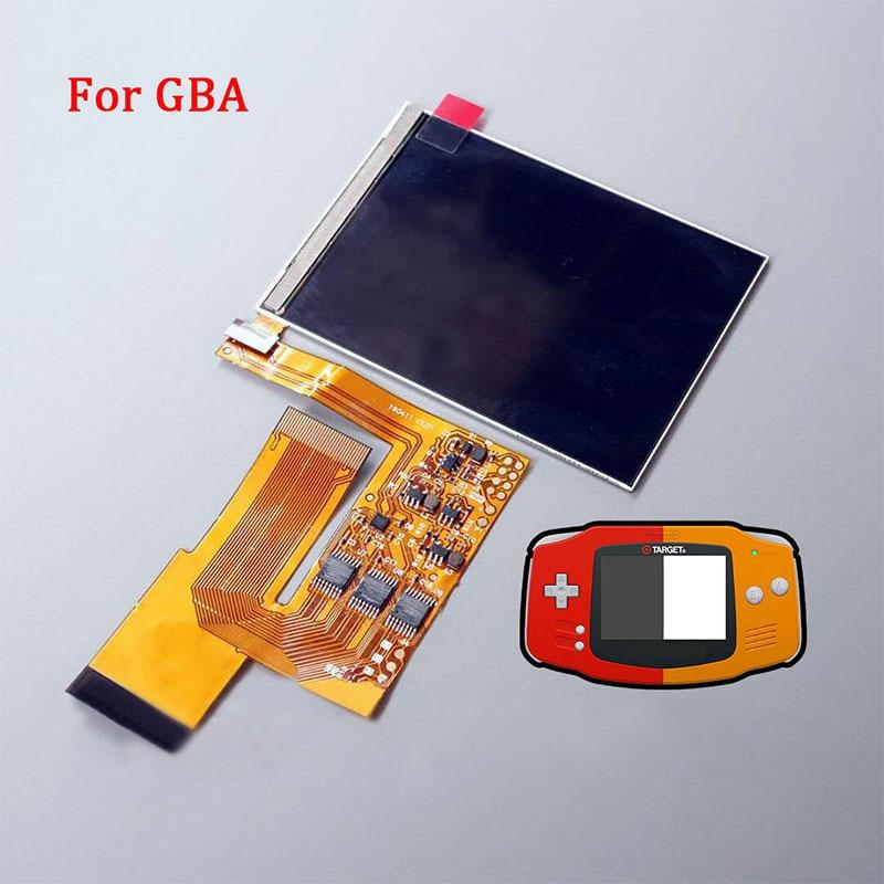 Remplacement d'écran LCD pour le rétro-éclairage GBA de l'intention kits de mod d'écran lcd 10 niveaux écran LCD IPS haute luminosité pour Console GBA
