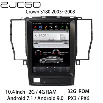 Car Multimedia Player Stereo GPS DVD Radio Navigation NAVI Android Screen for Toyota Crown S180 2003 2004 2005 2006 2007 2008 liislee for toyota 4runner hilux tundra tacoma t100 car radio cd dvd player gps nav navi navigation android s160 system