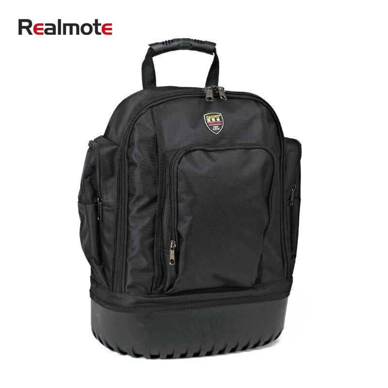High Grade Oxford Cloth Canvas Shoulder Tool Bag Storage Organizer Spanner Repair Backpack Hardware Kit Toolkit Belt Box Case