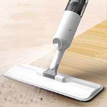 Spray Mop 360 Degree Rotating Handheld Water Home Cleaning Sweeper Mopping Dust Cleaner With a Refillable Bottle