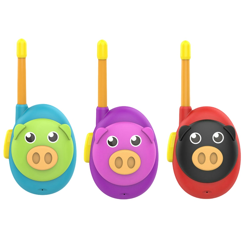 3 conjuntos walkie-talkie pai-filho chamada sem fio