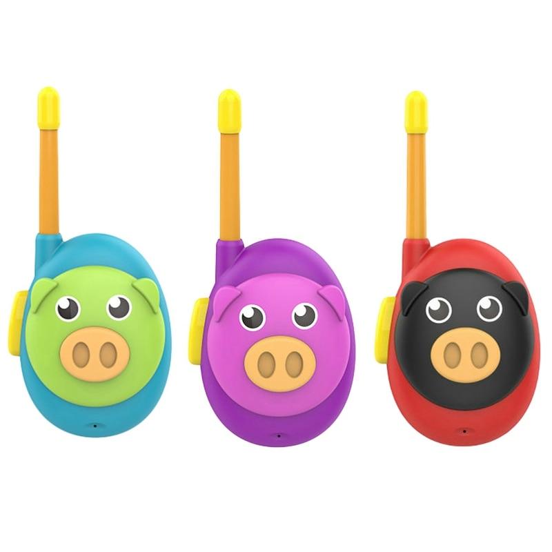 3 conjuntos walkie talkie pai filho chamada sem fio brinquedo interativo presente mini walkie talkie das