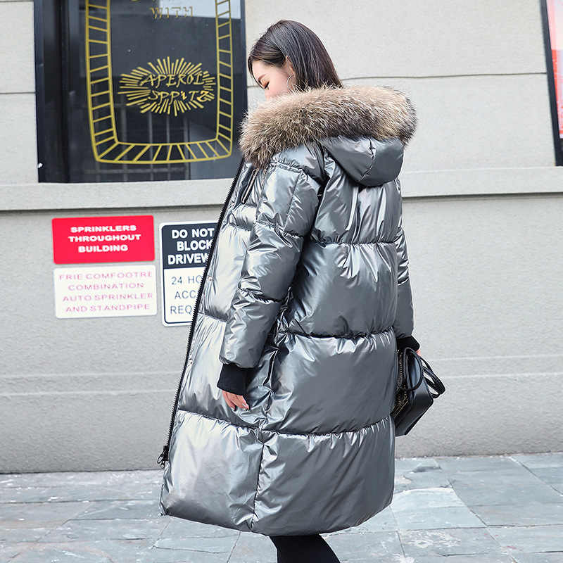 2019 Vrouwen Winter Jacket Hot Selling Katoenen Jas Vrouwen Winter Nieuwe Heldere Gezicht Met Bontkraag Vrouwelijke Uitloper