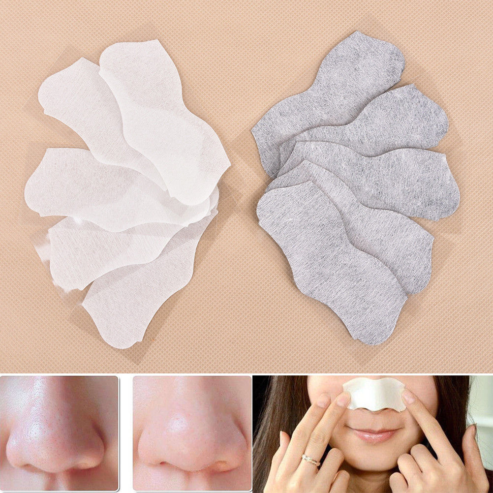 20 Pcs Blackhead Remover Mask Nasal Strips Black Head Nose Dot Spot Peel Off Sticker Face Acne Whitehead Pore Cleaner Mask
