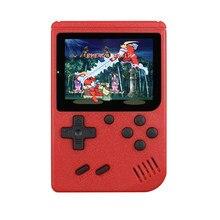 Built-in 400 jogos pai-filho retro portátil mini handheld game console 8-bit 3.0 polegadas cor lcd crianças cor console de jogo