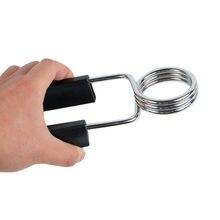 Venda quente durável 24/25mm coleiras barbell colarinho bloqueio grampos halterl braçadeira barra de levantamento de peso ginásio fitness equipamentos de construção do corpo