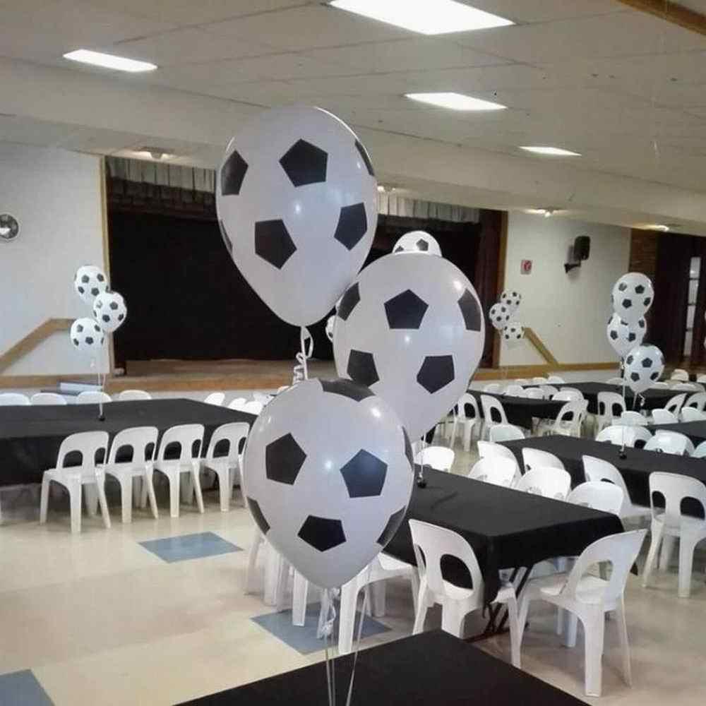 130 قطعة كرة القدم كرة القدم بالونات جارلاند قوس عدة كرة القدم موضوع حفلة اللاتكس احباط الهيليوم الهواء بالون زينة حفلة عيد ميلاد