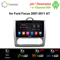 Ownice 8 Core Android 10 Car 2Din Radio DVD player carplay 4G 64G 360 Panorama DSP 4G SPDIF GPS Navi 9 for FOCUS 2007 2011 AT