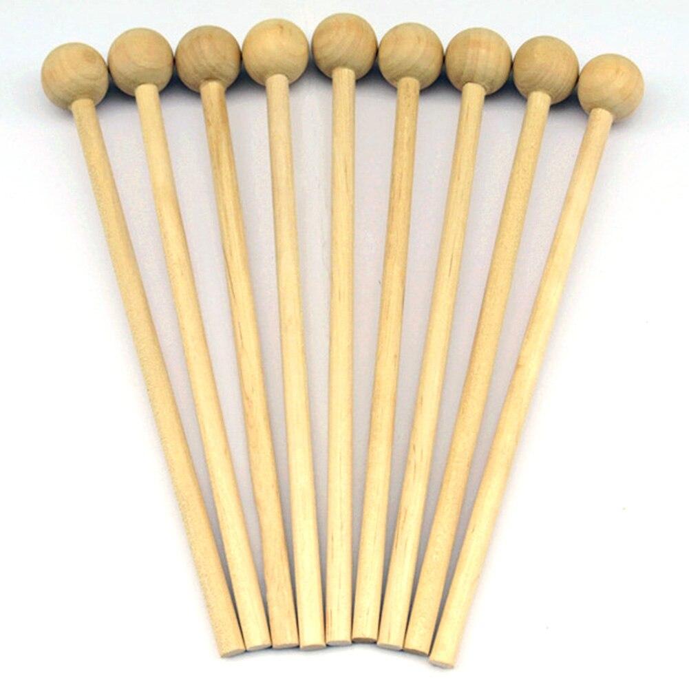 4pcs Gift Musical Handle  DIY Instrument Chopsticks Mallet Sticks Wood Toy