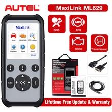 Autel ML629 OBD2 Car Auto Diagnostic Tool Scanners ABS SRS Engine Transmission