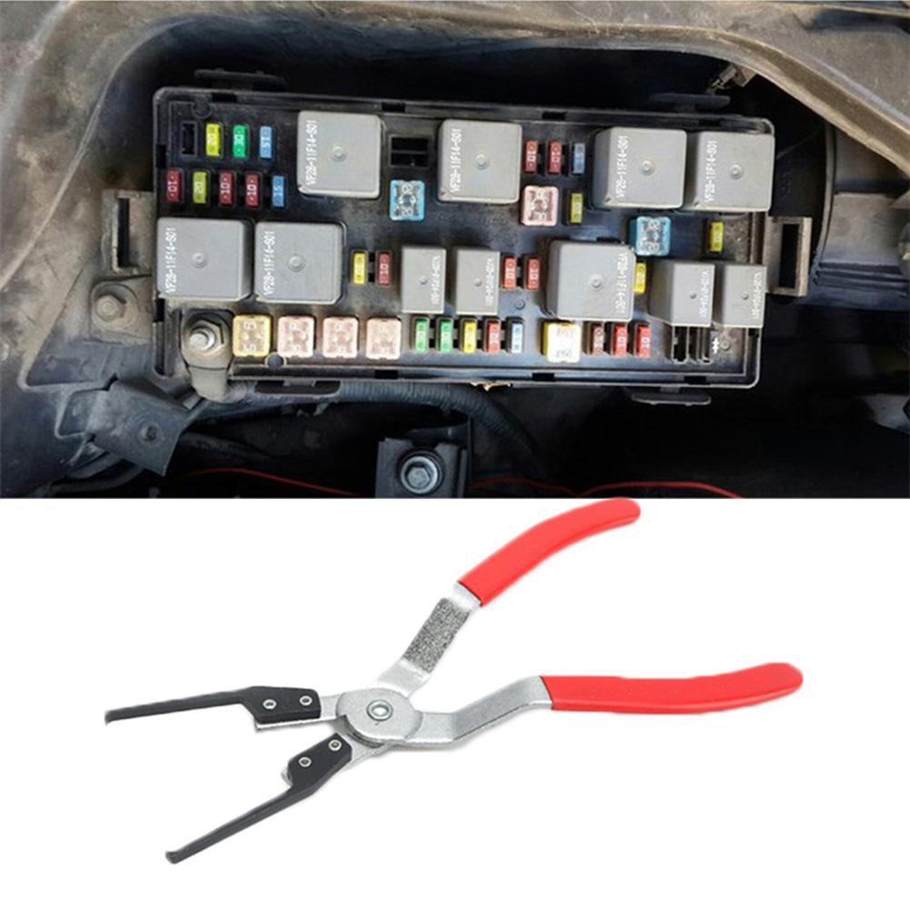Car Repairs Hand Tool Automotive Relay Removal Pliers Disassembly Clamp Relay Fuse Puller Remover Removal Pliers Clamp