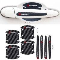 Película de protección para manija de puerta de coche, adhesivo para Suzuki SWIFT VITARA SX4, accesorios de estilismo para coche