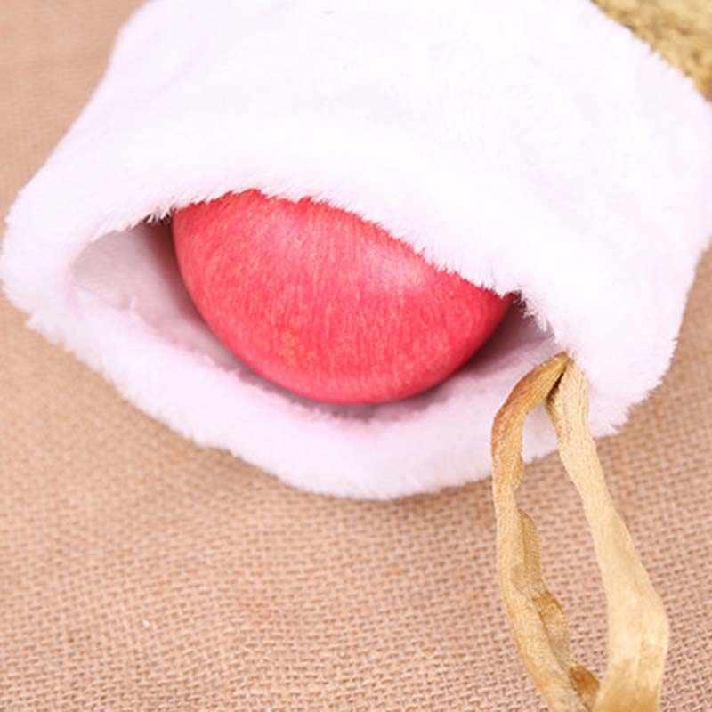 3 kleuren Xmas Candy Bag Kerst Decoratie Vis Vorm Pailletten Mermaid Tail Sok Kinderen Xmas Gift Bags Thuis Opknoping Decor