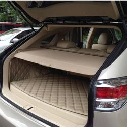 Car Rear Trunk Security Shield Cargo Cover Fit For LEXUS RX270 RX350 2008-2015 (black beige)