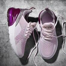 2019 ブランドのデザイナーの靴男性スニーカー tenis zapatillas mujer エアクッション軽量春の秋のファッション女性 scarpe ドナ