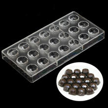 Transparent Hard Chocolate Mold Half Sphere Chocolate Candy Gummy Mold Mousse Dome Jelly Pudding Ice Cream Cake Baking Mold(China)