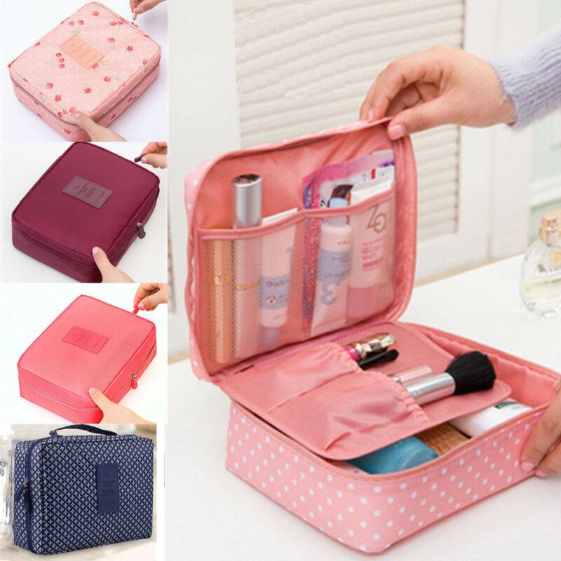 2020 New Cosmetic Bag Fashion Multi-function Oxford Travel Storage Makeup Bag Men Women Portable Waterproof Wash Bags