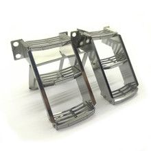 1pair Stainless Steel Ladder for 1/14 Tamiya VOLVO FH16 6X4 TIMBER TRUCK Globetrotter 750 Tractor kit 56360 RC Truck Parts