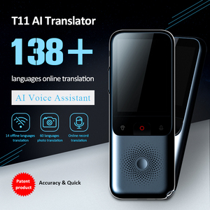 Image 1 - Portable Smart Voice Translator Upgrade Version for Learning Travel Business Meeting 3 in 1 voice Text Photo Language translator
