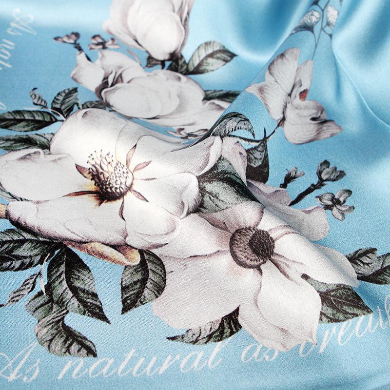 100-Silk-Scarf-Women-Fashion-Luxury-Flower-Print-Small-Kerchief-Scarves-Handkerchief-for-Stylish-Lady-Girl