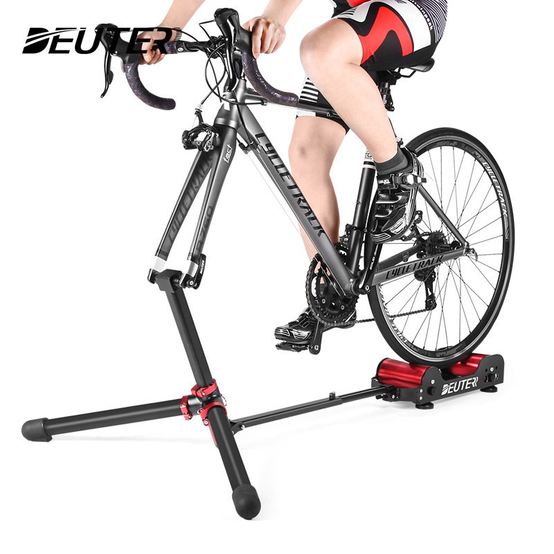 Indoor Cycling Bicycle Bike Stationary Trainer Training Rollers Running Sport