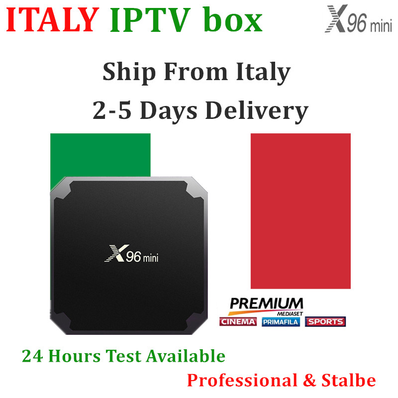 Italy IPTV Andorid Tv Box With Italy Iptv Subscription M3U Also Suport For Smart Tv Pc IOS Andorid title=