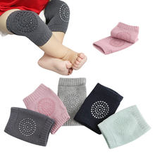 5 colors Infant Crawling Toddler Anti-fall Knitted Knee Pads Protector Baby Safety Kneepad Leg Warmer Girls Boys