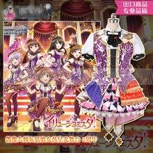 Anime THE IDOLM@STER Shibuya Rin Shimamura Uzuki Honda Mio Starlight Stage 2nd Anniversary Cosplay Costume H