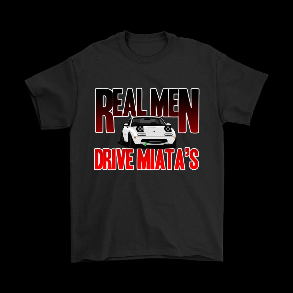 2019 Hot Sale 100% cotton DDI Real Men Drive Miata Mazda JDM T-Shirt Tee shirt