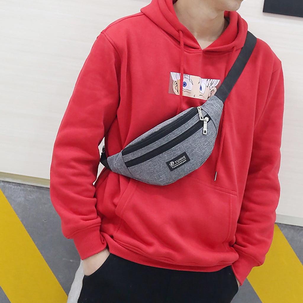 Fashion Waist Bag For Women Men 2020 New Waist Bag Colorful Unisex Waist Bag Belt Bag Mobile Phone Zipper Pouch Packs Belt
