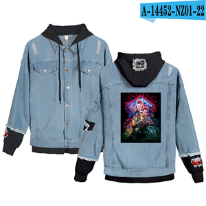 Image 3 - Preferential High Quality Stranger things Hoodies Denim jacket Men/Women sweatshirt Stranger things Boy/Girl Pullovers