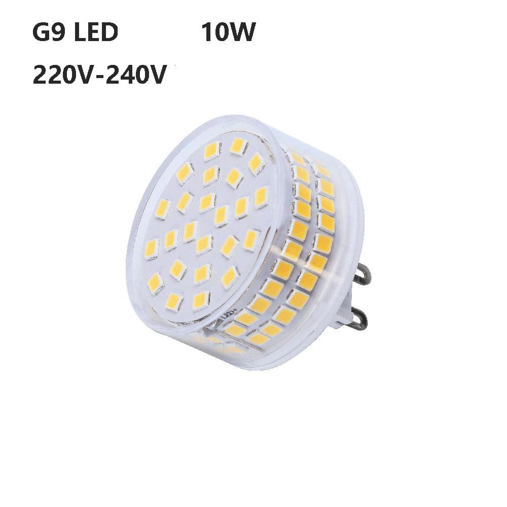 HiMISS G9 <font><b>LED</b></font> Light 10W 220V Small Lamp 88 Beads Shadowless <font><b>Bulb</b></font> No Flicker <font><b>360</b></font> Degree Mushroom Corn Design Ceramic Shell image