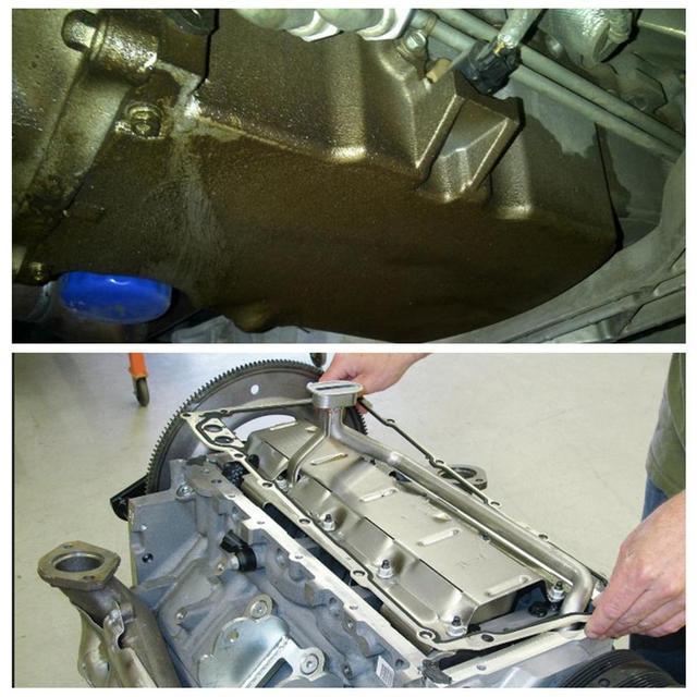 Silnik cylindrowy uszczelka miski olejowej zestaw wymiana dla GMC dla chevroleta dla Pontiac 5 3 5 7 6 0 LS1 LS2 LS3 LM7 LQ4 12612350 tanie i dobre opinie 10CM METAL 0 2KG other CHINA
