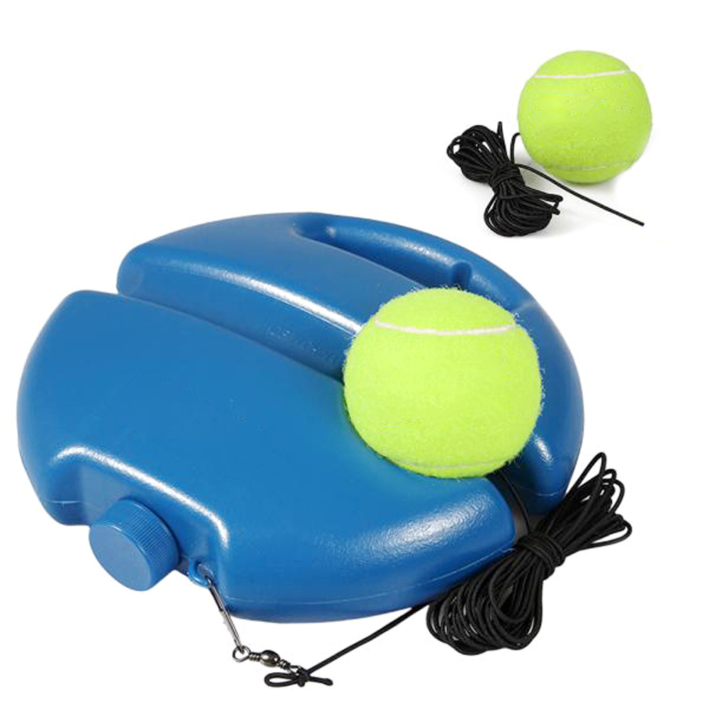 Portable Tennis Heavy Duty Tennis Training Devices Exercise Tennis Ball Sport Self-Study Tennis Balls Training Equipment