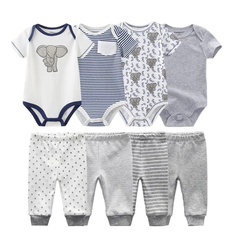 Весна лето, боди + штаны, комплекты одежды для малышей, одежда для маленьких мальчиков и девочек 0 12 месяцев, хлопковая одежда унисекс для новорожденных, Roupa De Bebe|Комплекты одежды| | АлиЭкспресс