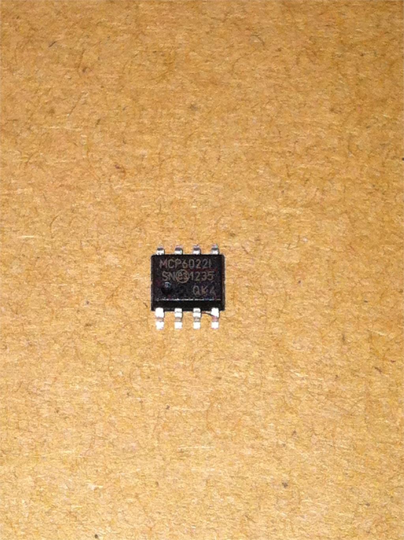 10pcs/lot MCP6022-I/SN MCP6022-I MCP6022 SOP-8 New Original In Stock